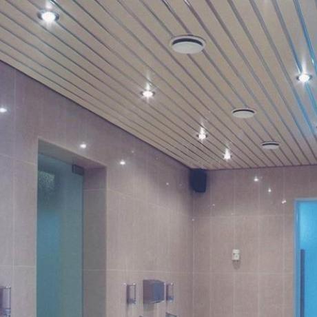 Комплект потолка для Туалетной комнаты