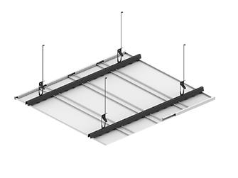 Подвесной потолок ППР 165 Дуо-схема крепления