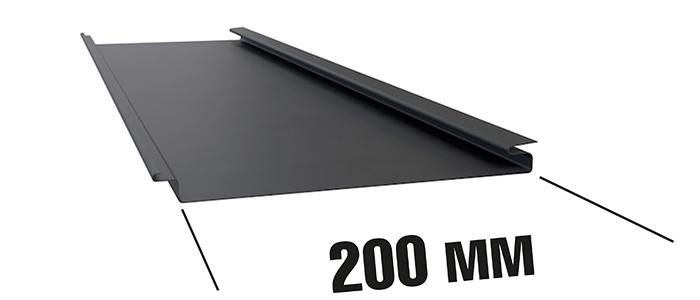 Панель для реечного фасада ФВР-200