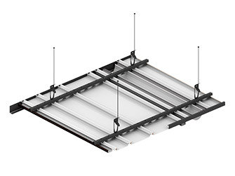 Подвесной потолок Комби-схема крепления