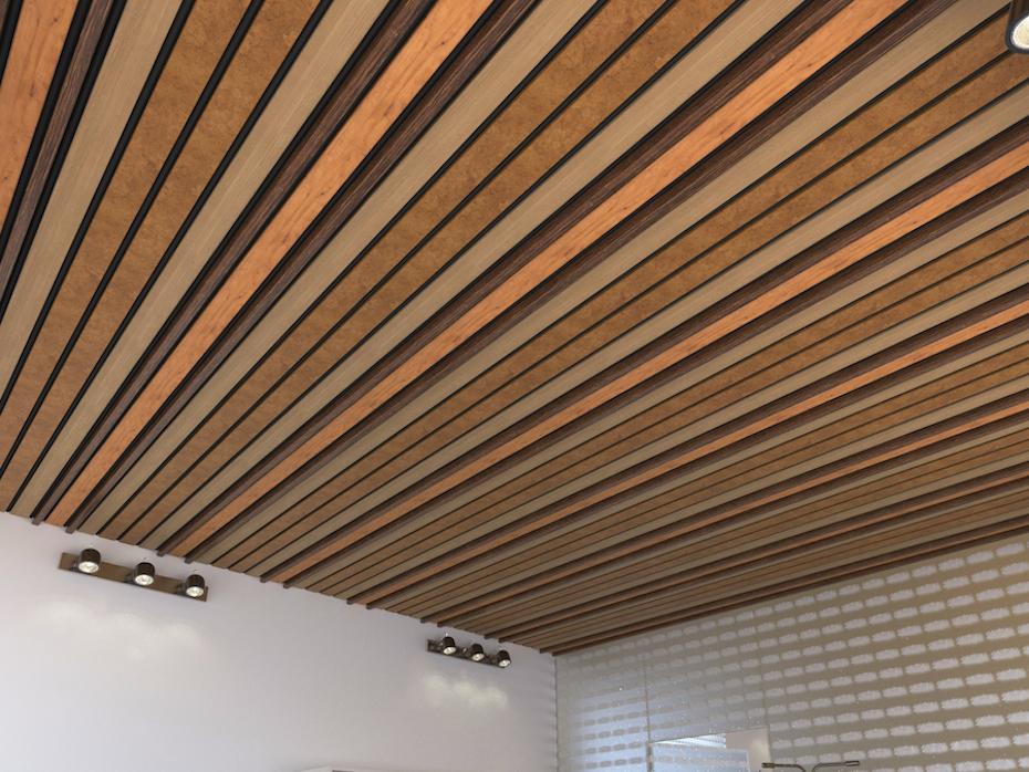 Подвесной потолок Комби