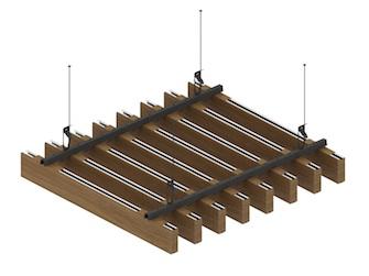 Подвесной потолок Униформ-схема крепления