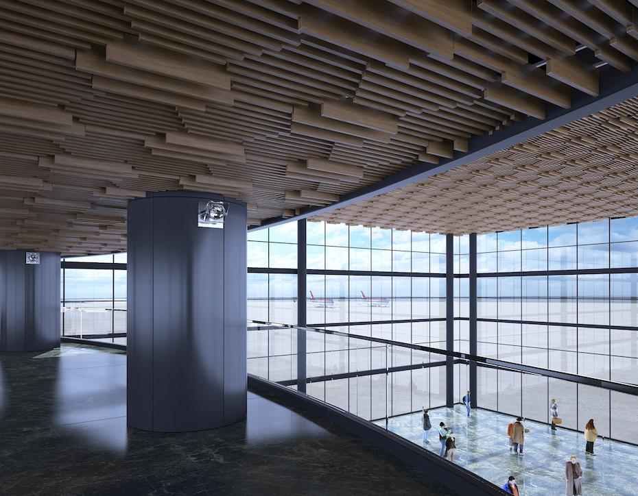 Подвесной потолок Униформ-обзор