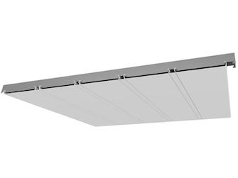 Реечный потолок ППР-149 внешний вид