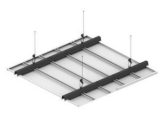 Реечный потолок ППР-149 схема крепления