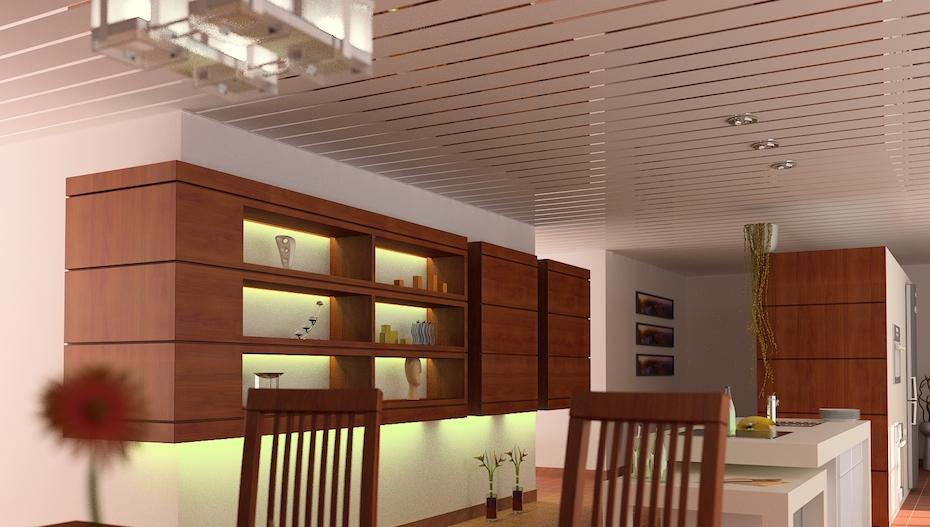 Реечный потолок ППР-149