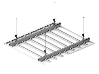 Реечный потолок ППР-83 схема крепления