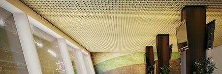 Кассета потолока КР-15 для ячеистого потолка
