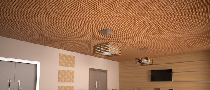 Ячеистые подвесные потолки КР-15